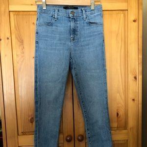 J brand skinny stretch high rise jean 26 like new